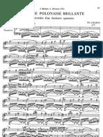 Chopin, op.22 Andante spianato et Grande Polonaise brillante
