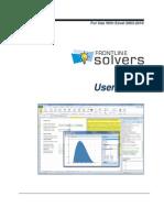 Frontline Solvers User Guide