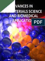 Advances Bio Materials Science i to 13