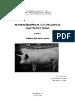 Informações básicas para projetos de construções rurais - Instalações para Suínos - Universidade Federal de Viçosa