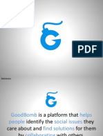 GoodBomb Pitch Deck