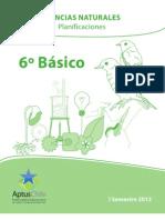 6° BÁSICO PLANIFICACIONES