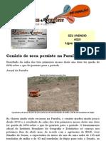 Cenário de seca persiste na Paraíba