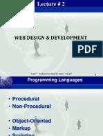 Lecture 2 - Basics - 18 Aug 2011