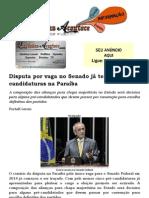 Disputa por vaga no Senado já tem cinco pré-candidaturas na Paraíba