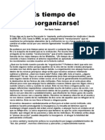 Kevin Tucker - Es Tiempo de Desorganizarse