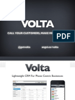 Volta Pitch Deck