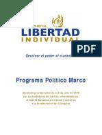Programa Politico Marco Del PLD