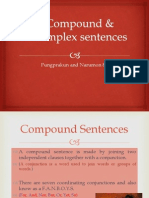 compound  complete sentences fun