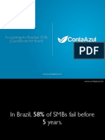 Contaazul Pitch Deck