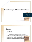 Basic Concept of General Anesthesia 2