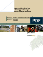 Review of Literature on Greenhouse Gas Emissions