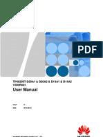 User Manual Plantas Huawei