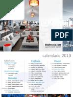 Calendario 2013 Light