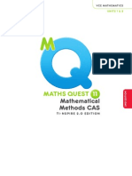 Maths Quest 11 Mathematical Methods CAS Prelims