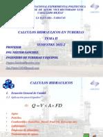 CLASE DISEÑO TUBERIAS II