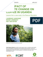 The Impact of Climate Change on Coffee in Uganda