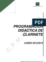 Programacion Didactica de Clarinete (1)
