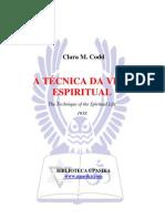Codd, Clara - A Tecnica Da Vida Espiritual