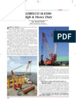 ERKE Group, Kobelco SL4500 High & Heavy Duty - Şantiye Dergisi - Nisan 2010