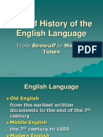 A Brief History of the English Language1