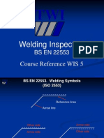BS en 22553 Welding Arrow Symbol