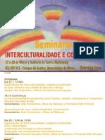 Seminário Interculturalidade e Convivência