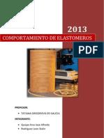 Informe - Comportamiento de Elastomeros