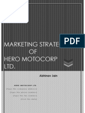 Hand Written Hero Motocorp in Sequence  - Copy | Motorcycle