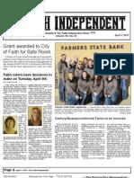 Faith Independent, April 4, 2013