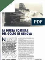 La Difesa Costiera del Golfo di Genova. Fra batterie costiere italiane e bunker Tedeschi