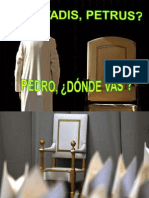 QUO VADIS, PETRUS. PEDRO, DONDE VAS. Sor Mª Celina