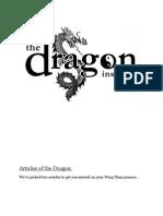 A Guide to Beginning Wing Chun