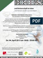 Hamburg Einladung Uni