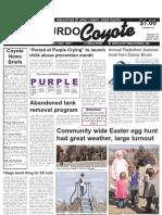 Murdo Coyote, Thursday, April 4, 2014