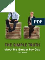 Gender wage gap study