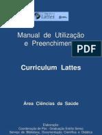 Manual de Utilização e Preenchimento do Curriculum Lattes