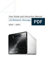 LG NAS N2D1 Manual (English)