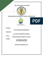MEMORIA INSTALACIONES HIDROSANITARIAS 3er PARCIAL.docx