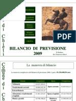 Bilancio Chieti 2009