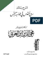 Ghurab - Ibn 'Arabi Sharh Risala Ruh Al-quds