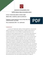 Programa Traductorado 2013