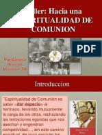 CCE Espiritualidad de Comunion