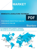 Solar Market Update and testimony -- Ethan Zindler Handout