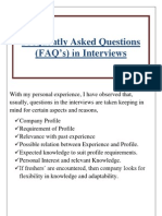 Interview Questionaire.
