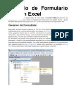 Ejemplo de Formulario VBA en Excel