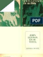 John Lennon - En Su Propia Tinta