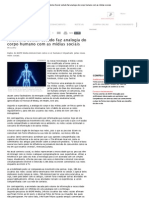 Anatomia Social_ estudo faz analogia do corpo humano com as mídias sociais