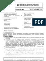 PES.10 v1 - Revestimento de piso interno úmido