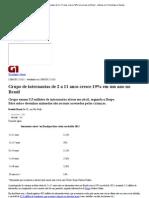 G1 - Grupo de internautas de 2 a 11 anos cresce 19% em um ano no Brasil - notícias em Tecnologia e Games.pdf